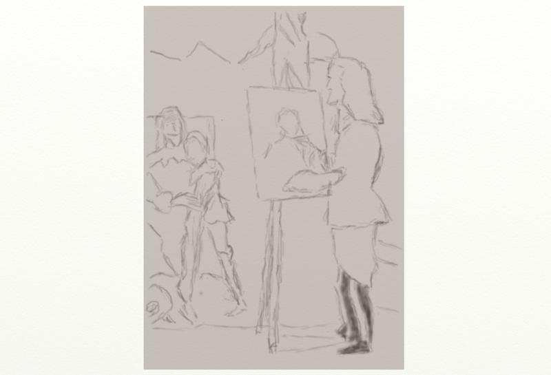 Click image for larger version.  Name:CHarles the 1 and his   son  in the studio of Van Dyke        starter  no1           cpy   by   .jpg Views:2 Size:31.5 KB ID:101539