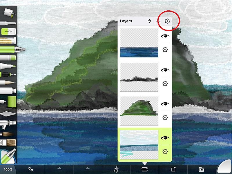 Click image for larger version.  Name:menu layers ArtRage for iPad 2.0.jpg Views:159 Size:217.1 KB ID:89994