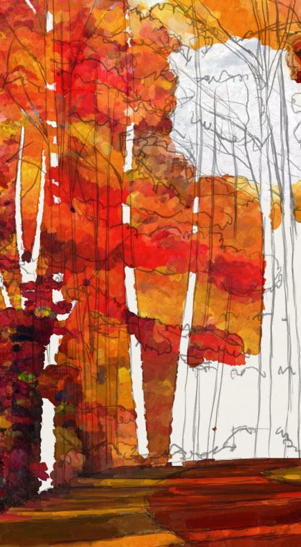 Name:  AutumnGlory-I-impastounderpainting.jpg Views: 376 Size:  146.0 KB