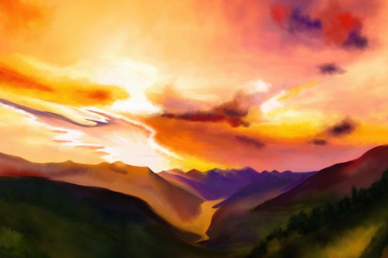 Click image for larger version.  Name:Daybreak2-Artrage.jpg Views:6 Size:69.1 KB ID:97573