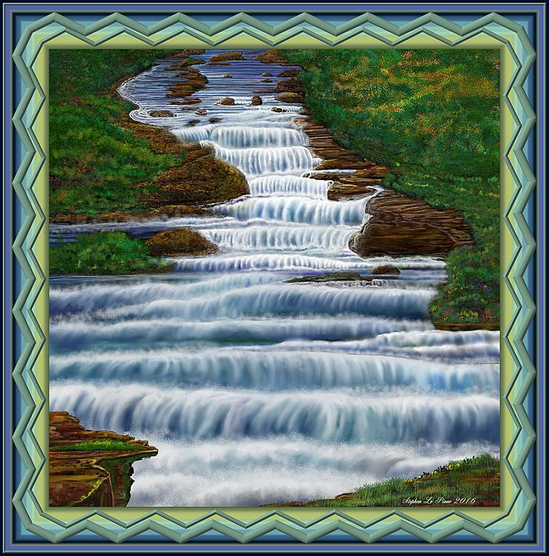 Click image for larger version.  Name:Waterfall Painting 2016 Framed 2 Reduced.jpg Views:54 Size:502.3 KB ID:90539