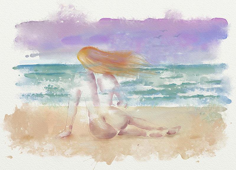Click image for larger version.  Name:Dona en la playa.jpg Views:111 Size:226.2 KB ID:97081