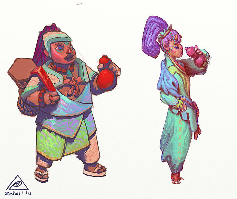 Click image for larger version.  Name:gourd_shamans.jpg Views:105 Size:275.2 KB ID:95942