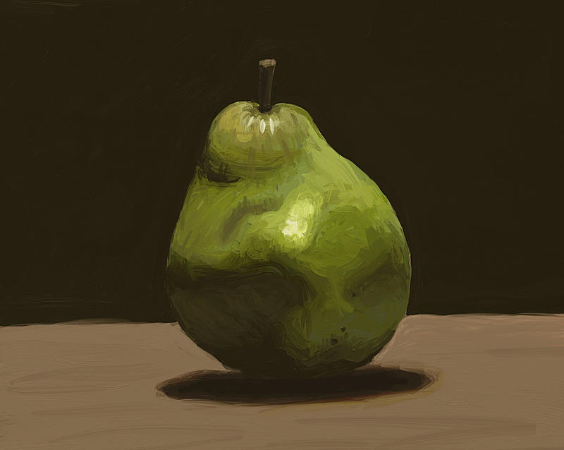 Click image for larger version.  Name:Pear Study.jpg Views:68 Size:155.4 KB ID:93645