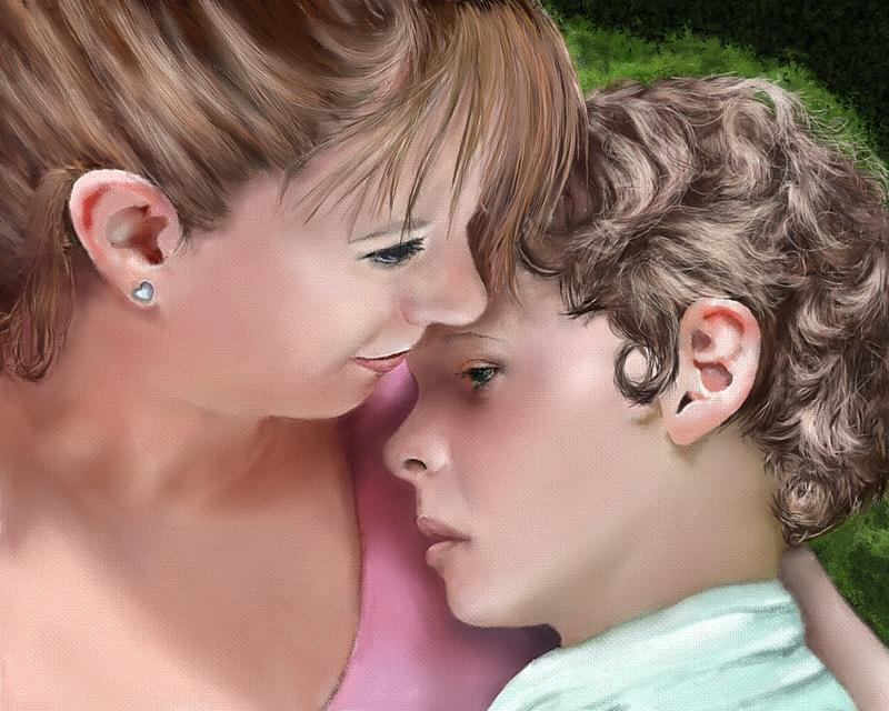 Click image for larger version.  Name:nother and child pencil finished.jpg Views:13 Size:247.8 KB ID:101019