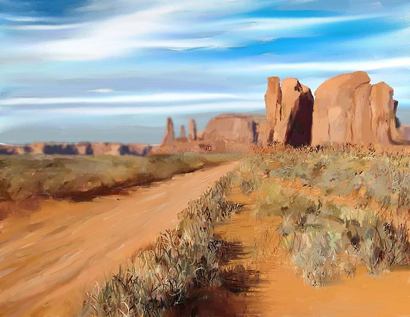 Click image for larger version.  Name:Camel Butte.jpg Views:120 Size:362.2 KB ID:83967