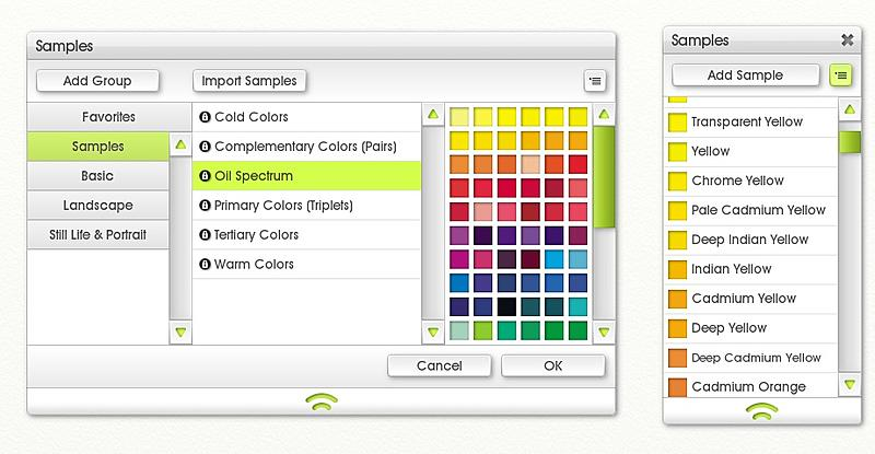 Click image for larger version.  Name:oil spectrum colour samples.jpg Views:121 Size:111.9 KB ID:94315