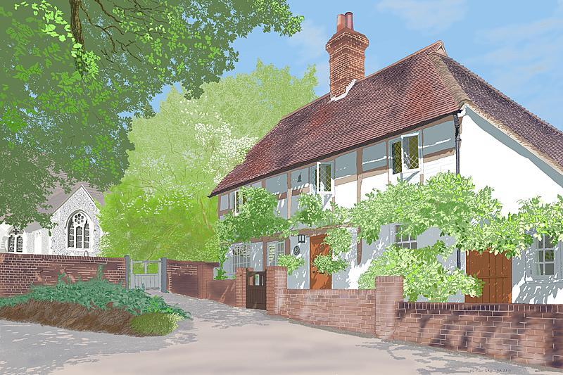 Click image for larger version.  Name:Old Tudor Cottage.jpg Views:2 Size:490.9 KB ID:98297