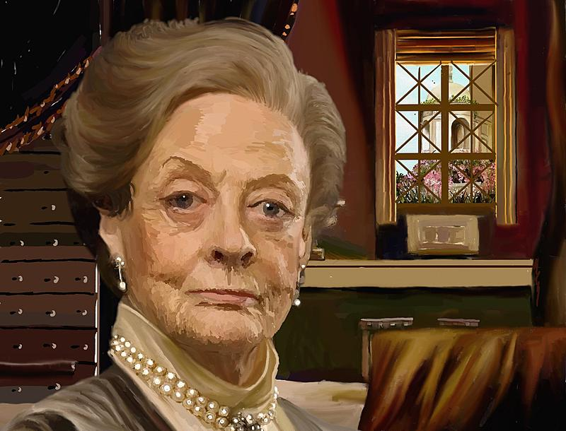 Click image for larger version.  Name:Maggie Smith - Countess Grantham (2k).jpg Views:146 Size:339.3 KB ID:93394