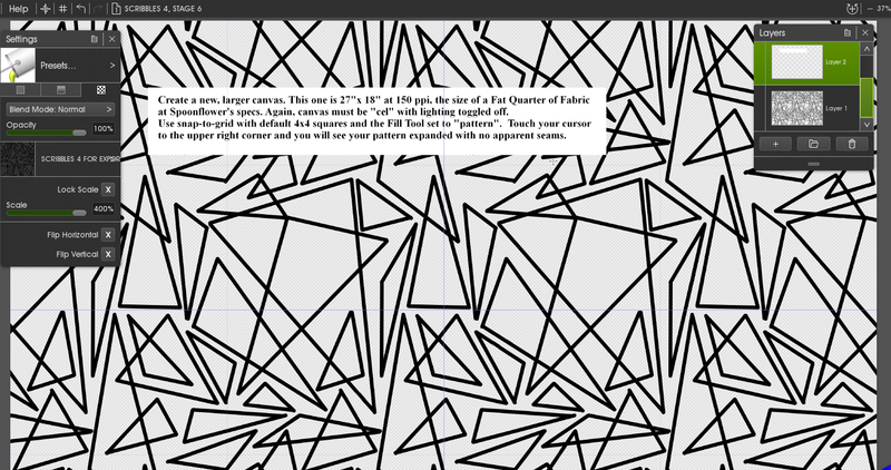 Click image for larger version.  Name:SCRIBBLES 4, STAGE 6.PNG Views:51 Size:421.9 KB ID:96684