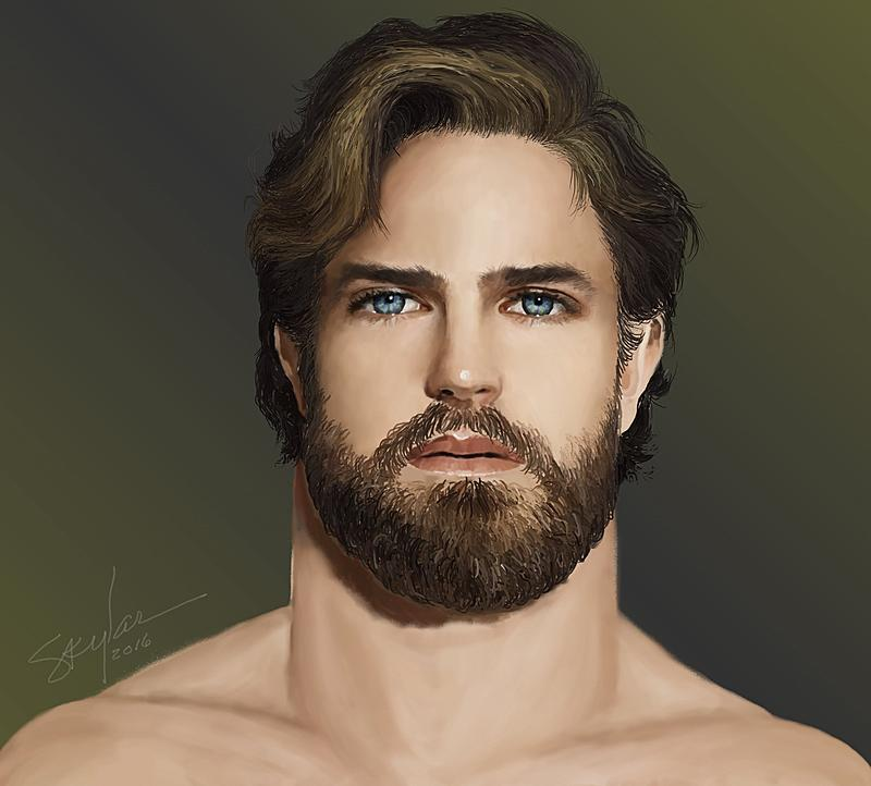 Click image for larger version.  Name:Bearded Beau # 1-A.jpg Views:90 Size:181.0 KB ID:90800