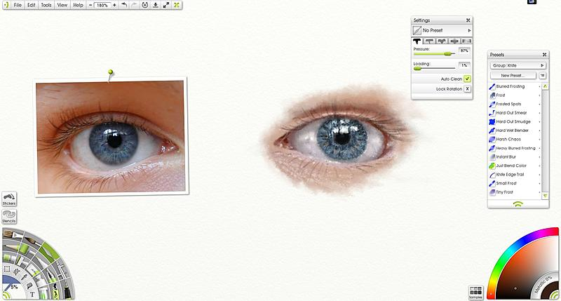 Click image for larger version.  Name:Artlesson with artrage.JPG Views:1550 Size:185.5 KB ID:76771