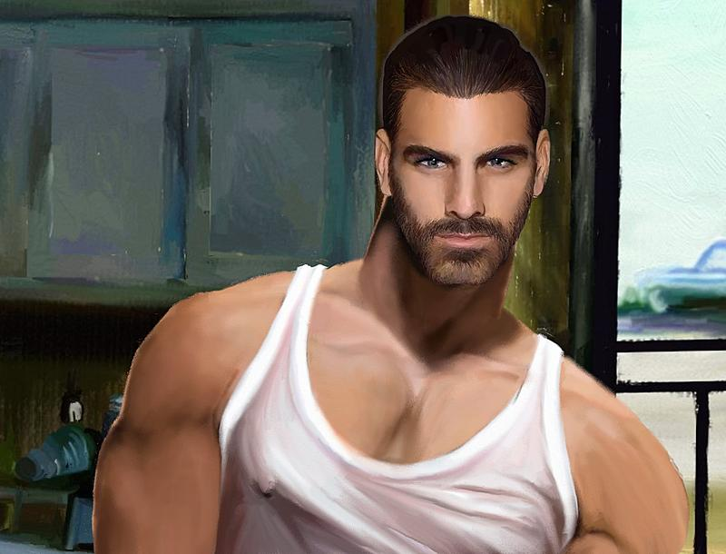Click image for larger version.  Name:Nyle5 in Kitchen (2k300).jpg Views:120 Size:263.5 KB ID:90725