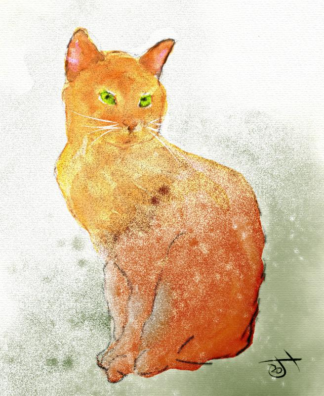 Click image for larger version.  Name:watercolour cat.jpg Views:68 Size:127.3 KB ID:99831