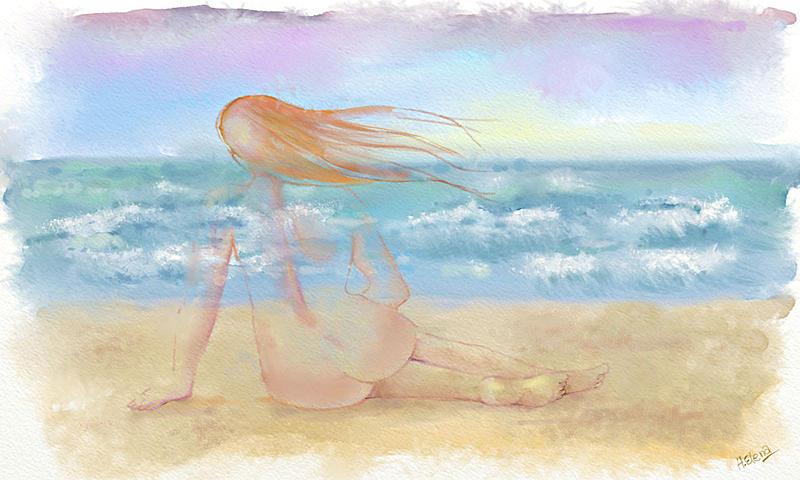 Click image for larger version.  Name:Dona en la playa.jpg Views:92 Size:141.9 KB ID:96038