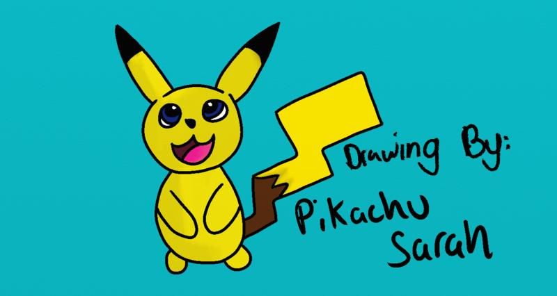 Click image for larger version.  Name:My Scetch of Pikachu.jpg Views:45 Size:65.7 KB ID:88298