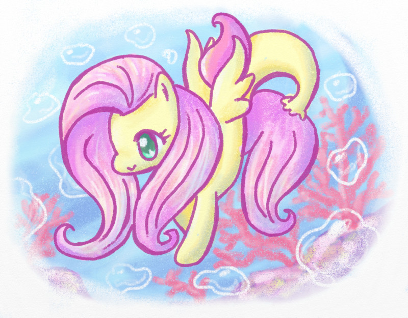 Name:  fluttershy seapony C.jpg