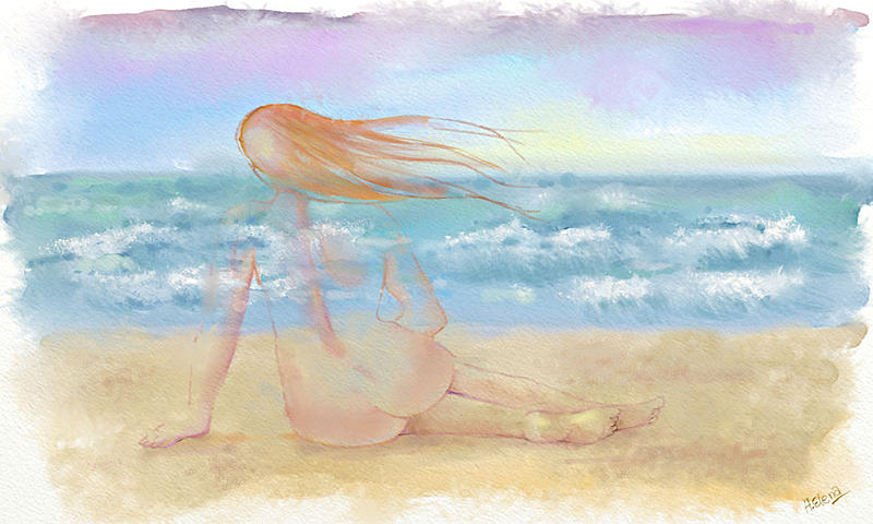 Click image for larger version.  Name:Dona en la playa.jpg Views:117 Size:141.9 KB ID:96038