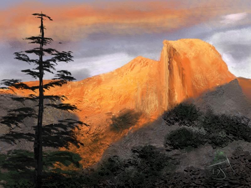 Name:  Mountain Glow.jpg Views: 81 Size:  380.6 KB