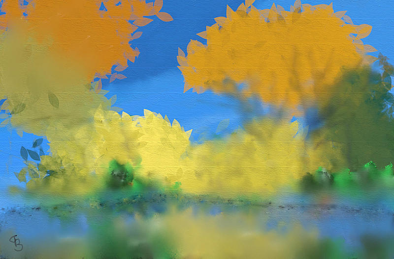 Click image for larger version.  Name:Autumn Landscape with Reflections adj.jpg Views:69 Size:260.8 KB ID:100082
