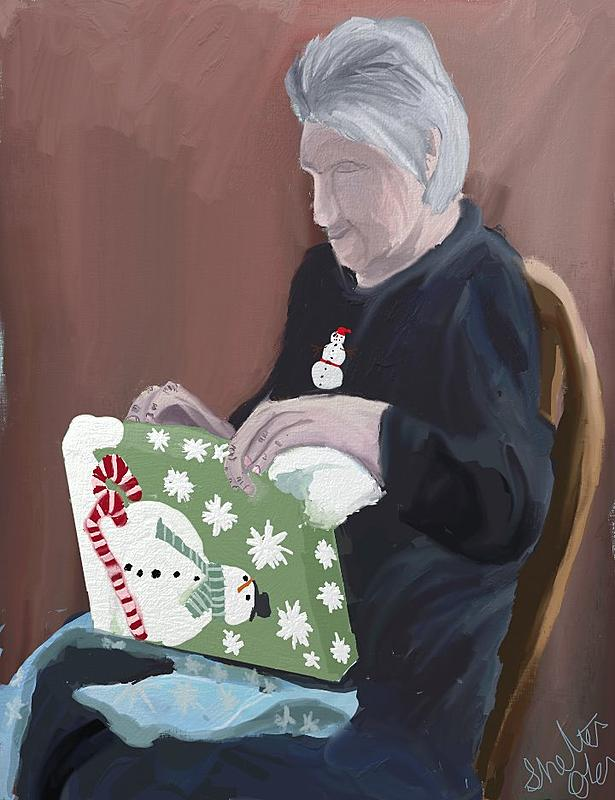 Click image for larger version.  Name:#45 momma at christmas.jpg Views:46 Size:92.2 KB ID:94321