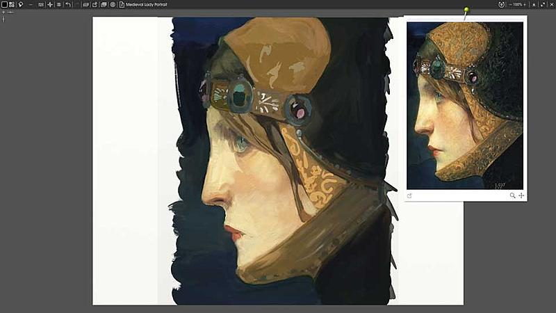 Click image for larger version.  Name:Head-of-a-Lady-in-Medieval-Costume.jpg Views:144 Size:32.7 KB ID:92853