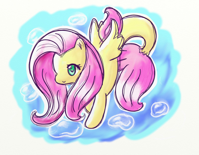 Name:  fluttershy seapony 2.jpg