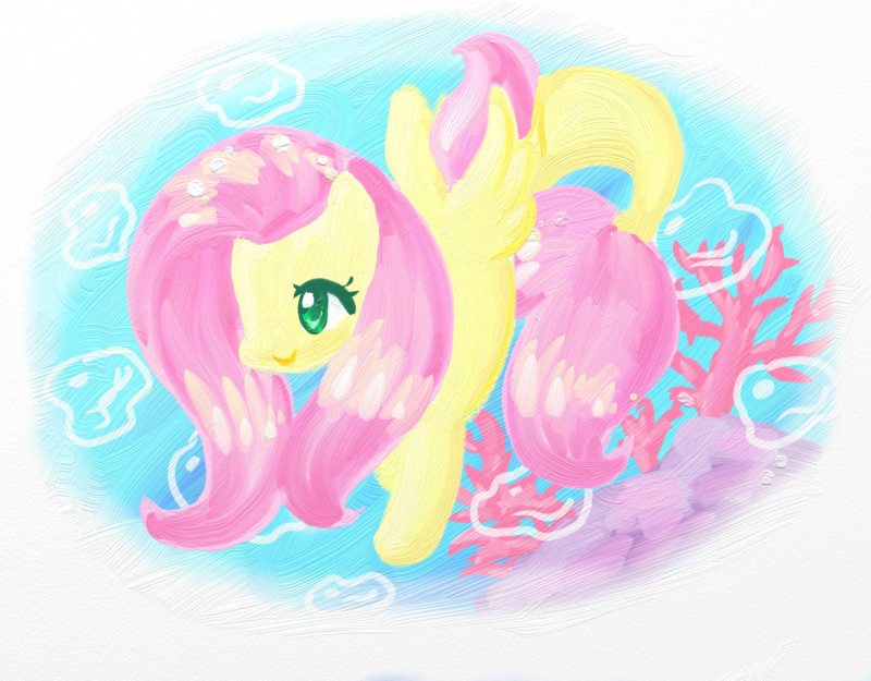 Name:  fluttershy seapony 3.jpg