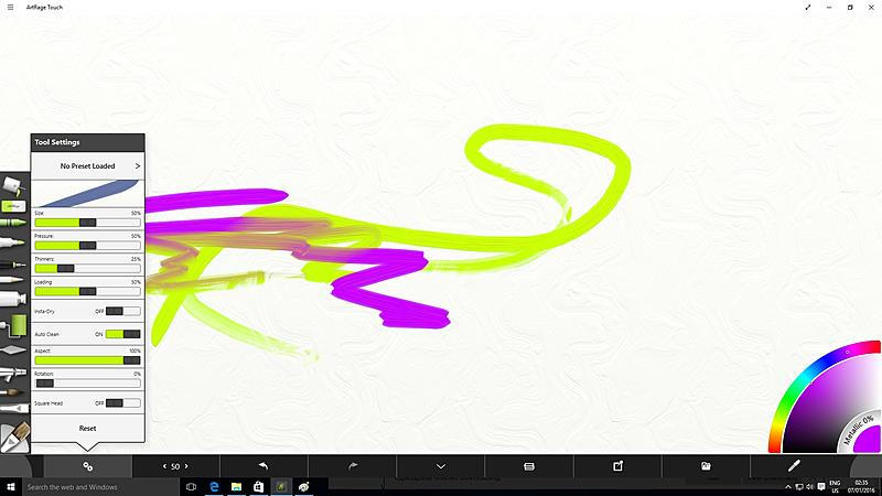 Click image for larger version.  Name:artrage touch oil brush settings.jpg Views:178 Size:336.4 KB ID:90585