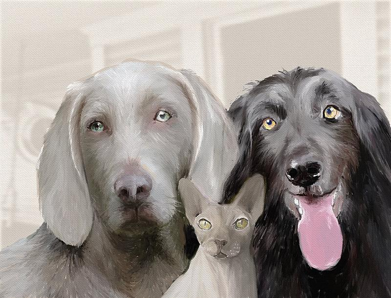 Click image for larger version.  Name:Two Dogs and a naked cat (2k).jpg Views:573 Size:475.6 KB ID:92692