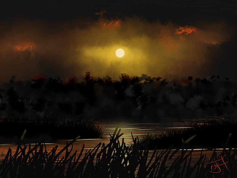 Click image for larger version.  Name:Moonlight Silouhettes.jpg Views:40 Size:174.6 KB ID:92668