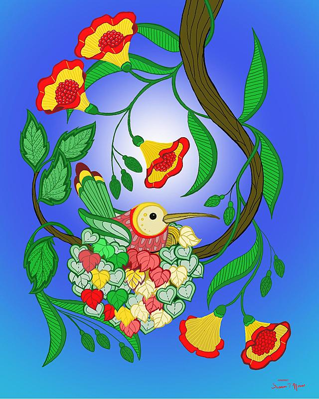 Click image for larger version.  Name:nesting bird signed.jpg Views:40 Size:327.9 KB ID:100536