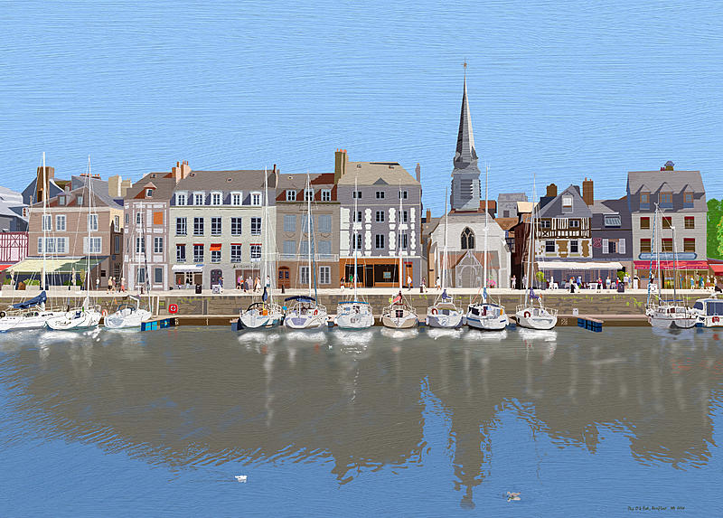 Click image for larger version.  Name:Honfleur Old Port.jpg Views:38 Size:485.6 KB ID:98706
