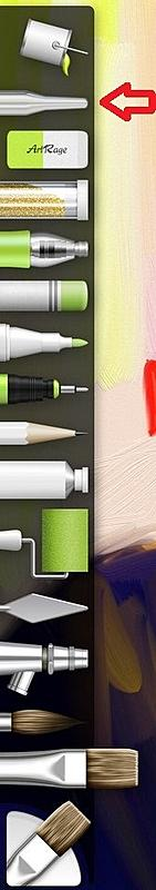 Click image for larger version.  Name:color sampler tools ArtRage for iPad 2.0.jpg Views:89 Size:55.1 KB ID:89274